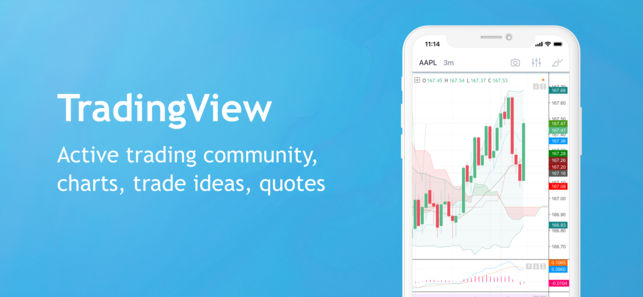 TradingView App for iPhone - Active Trading Community