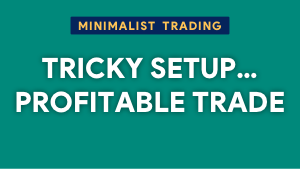 A tricky setup but a highly profitable trade Thumbnail@300w