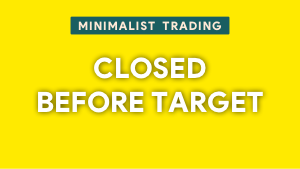 Learn when to close the trade before reaching the target Thumbnail@300w